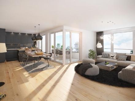 Grüne Ausblicke - Herrliche Neubau-Maisonette im Pagenthorn-Haus