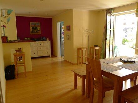 4 Zimmer Gartenwohnung möbliert