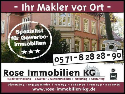 ROSE IMMOBILIEN KG: Gewerbegrundstück an einer Ausfallstraße von Minden!