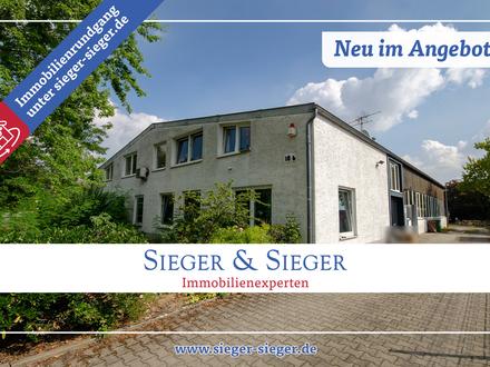 Provisionsfrei: Vielseitige Gewerbeeinheit mit Einliegerwohnung und großer Halle in Troisdorf-Spich!