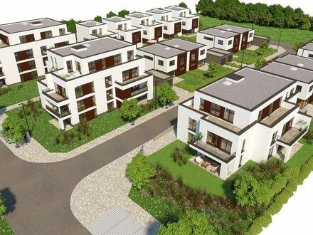 Neue Erdgeschosswohnung mit Terrasse und Garten