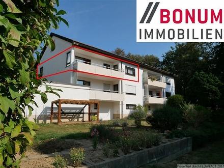 Gepflegte 3,5-Zimmer-Wohnung mit Balkon sowie großzügigen Nebenflächen