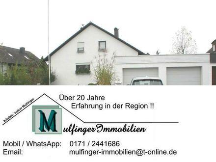 EFH mit Wintergarten, Ausbaureserve im DG, Doppelgarage und schön angelegtem Grundstück