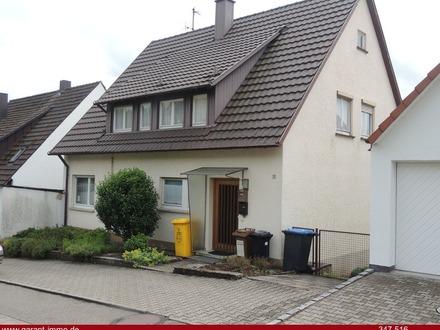 Nette, kleine und gepflegte Doppelhaushälfte mit Garage und Schuppen - in bester Lage von Auenwald