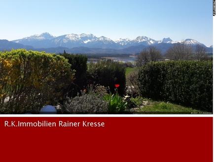 Bungalow mit Sonnenterrasse & Panoramablick über den Hopfensee u. zu den Schlössern zu vermieten