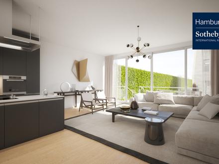 Erdgeschosswohnung 3 Zimmer mit über 88 m² Gartenfläche