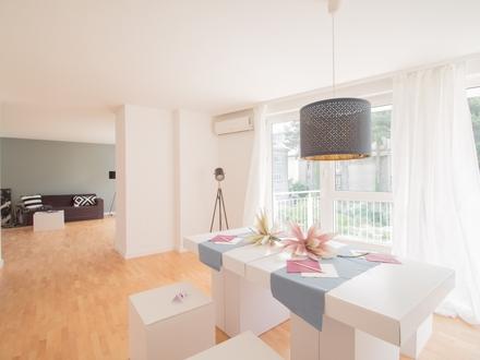 Was anspruchsvolle Stadtmenschen suchen! Hier finden Sie eine besonders schöne Komfort-Maisonettewohnung