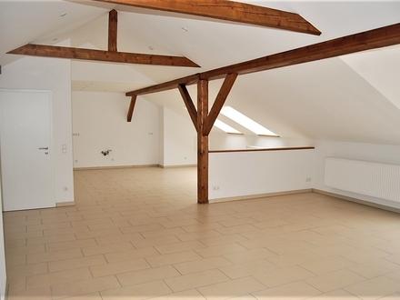 Super schöne Dachgeschoss-Wohnung direkt am Waldrand - Nähe BAB