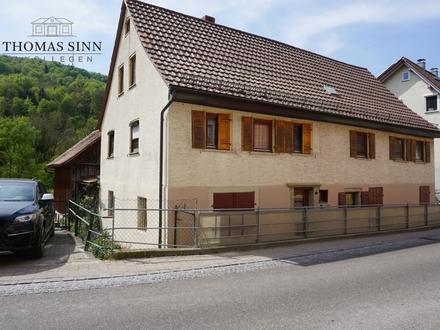 Älteres Wohnhaus auf großem Grundstück Das Potenzial entdecken