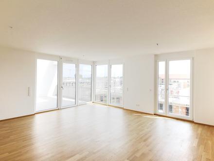 Wohnkomfort garantiert - traumhafte 3-Zimmer- Neubauwohnung mit herrlicher Dachterrasse