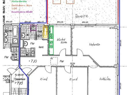 4 Zi. DG Penthouse mit Dachterasse in Nellingen