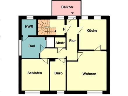 Frisch sanierte OG-Wohnung in ruhigem 3-Familien Wohnhaus
