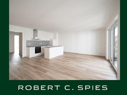 Zentral wohnen: Hochwertige 2-Zimmer-Neubau-Wohnung mit Balkon
