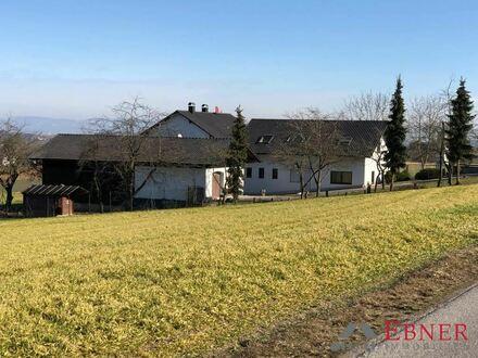 * Ruhige, idyllische Lage * Wohnhaus u. Gewerbegebäude mit ca. 2.128 m² Grundstück zw. Dingolfing u. Straubing