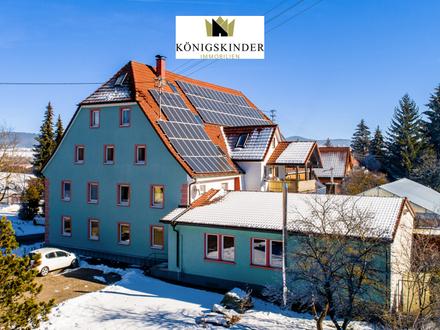 Großes Apartmenthaus und Gasthof mit Geschichte