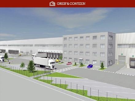 PROVISIONSFREI - Neubau-Logistikflächen + + Nähe AB-Kreuz Kerpen