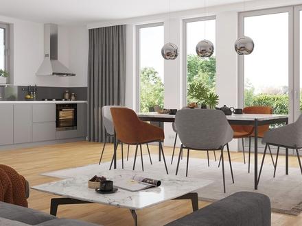 Praktische 2-Zimmer-Wohnung mit KfW 40+