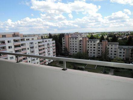 Sofort freies 25 qm Apartment mit großzügigen Sonnen- Balkon und atemberaubenden Blick über Fürth