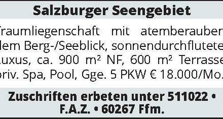 Salzburger Seengebiet