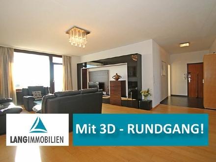 ++ Familiendomizil mit Skylineblick! TOPP - Komplett Modernisierte 4 Zi-Wohnung mit Taunusblick ++