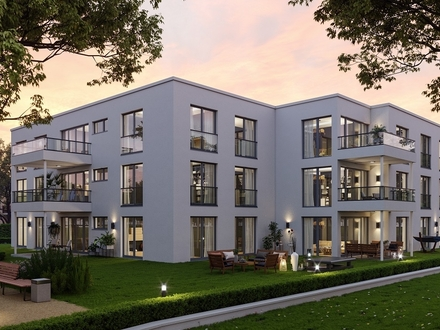 4-Zi.-Wohnung mit großem Garten