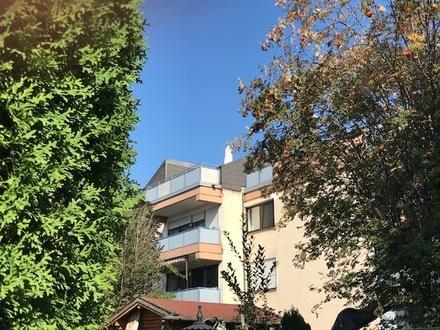 Perfekter Bergblick: 2-Zimmer-Dach-Maisonette mit Terrasse und Balkon
