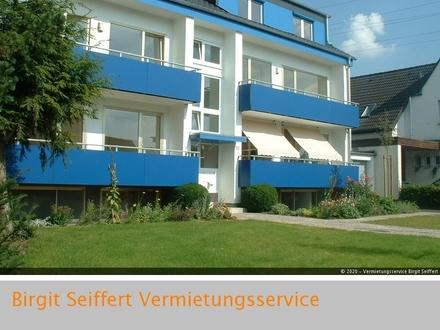 3-Zimmer-Wohnung mit zwei Balkonen, Gartenzugang und Gartennutzung