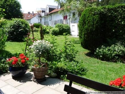 2-Zimmer-EG-Wohnung mit bezauberndem kleinen Garten