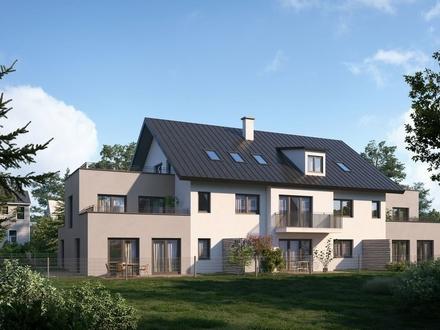 Traumhafte Dachgeschosswohnung mit zwei großen Dachgärten