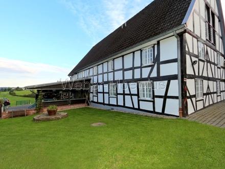 ~ FACHWERKTRAUM ~ saniert, moderne Ausstattung, Galerie, Nebengebäude, Bauerngarten ...