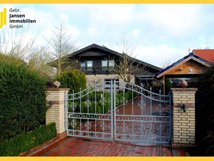 Tolles Einfamilienhaus in Schwarzwald-Optik auf traumhaften Grundstück in Ostrhauderfehn!
