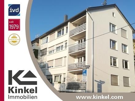Gepflegte 2-Zimmer-OG-Wohnung mit Balkon