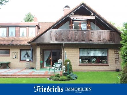 Gepflegtes Wohnhaus mit zwei Wohneinheiten in zentraler u. ruhiger Sackgassenlage in Edewecht