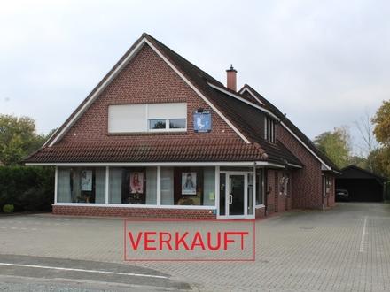 Verkauft! Vermietetes Wohn- und Geschäftshaus in Westoverledingen - Ihren zu verkaufen! Provisionsfrei!