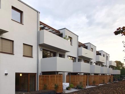 WOHNKONZEPT 50+, barrierefreie 2-Zi.-Wohnung, EBK, Terrasse und Gartenanteil, ERSTBEZUG