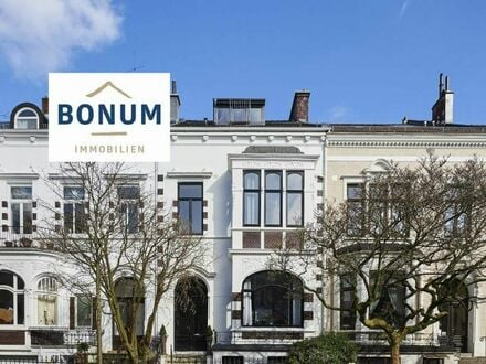 """Außergewöhliche Eigentumswohnung mit Dachterrasse und Balkon im """"Jugendstil-Haus"""" nahe Bürgerpark"""