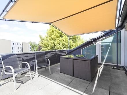 Großzügig und modern mit toller Dachterrasse