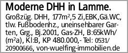 Moderne DHH in Lamme.