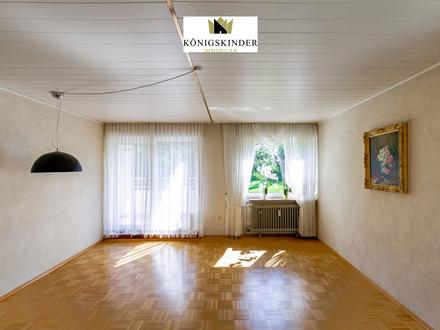 Großzügige 3-Zimmerwohnung mit Balkon und Stellplatz - teilsaniert