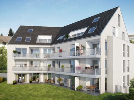 3-Zimmer-Neubau-EG-Wohnung: Großzügiges Wohnen mit Süd-Terrasse