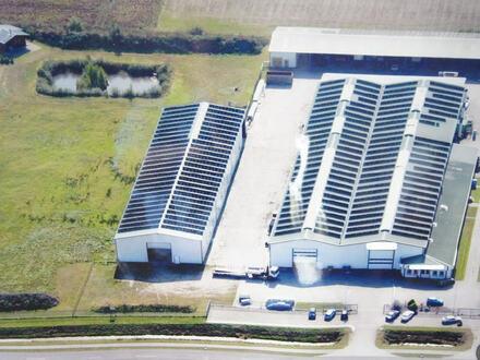 Vielseitig verwendbare Produktionshalle mit Büro und Sozialtrakt und zusätzlicher Lagerhalle in Dörpen