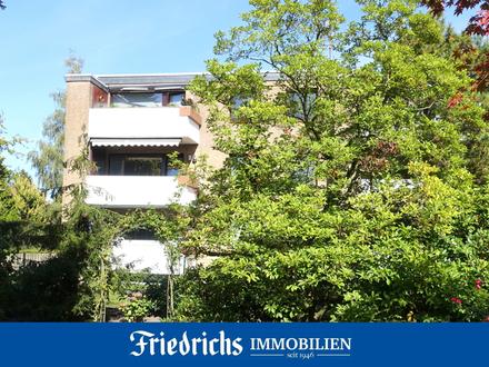 Top gepflegte 3-Zimmer-Erdgeschosswohnung mit verglastem Balkon in Bad Zwischenahn