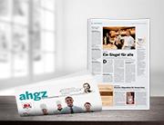 Print-Anzeige in der ahgz