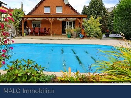 Saniertes Einfamilienhaus mit Pool in BS Waggum