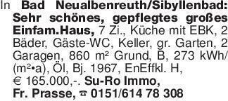 In Bad Neualbenreuth/Sibyllenb...