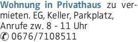 Mietwohnung in Engerwitzdorf (4209)