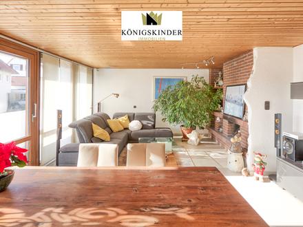 Großzügiges Einfamilienhaus mit Einliegerwohnung/Büromöglicheit im UG (Strassenebene) in Simmozheim