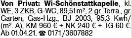 3-Zimmer Mietwohnung in Wiesbaden-Schierstein (65201)