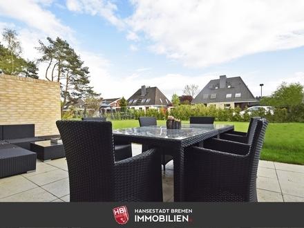 Oberneuland / Neubau-Doppelhaushälfte mit Süd-Ost-Garten