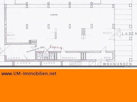 250 m² Ladenfläche, auch Teilfläche mit 140 m² möglich, ab sofort
